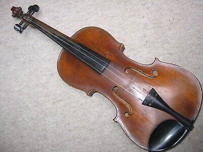 Very nicely flamed, old  violin Violon