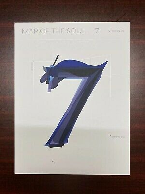 BTS -  MAP OF THE SOUL : 7  Album VERSION 02 (NO PHOTOCARD)