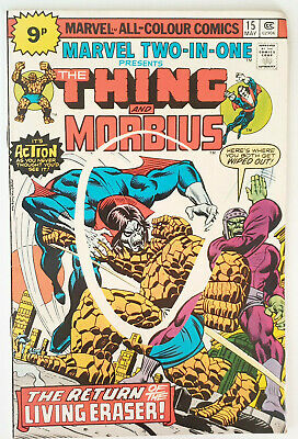 Marvel Two In One #15 The Thing & Morbius VF+