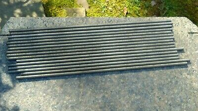 """(16) 3/8"""" x 18"""" Stainless Threaded Rods with nuts and washers"""