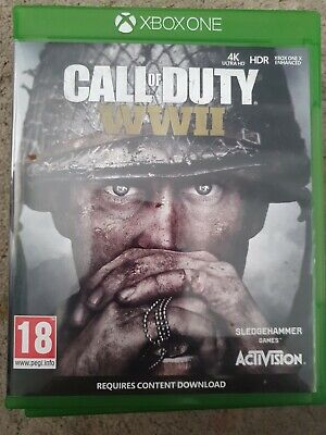 Call of Duty WW2 - Xbox One - spotless