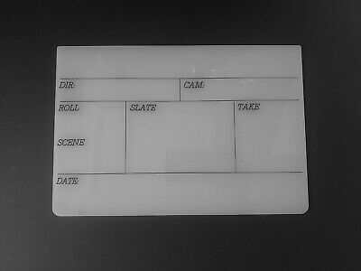 Professional Clapperboard (board only - medium size)