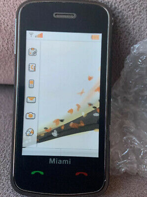 Orange Dummy Phone Miami Black