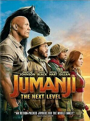 Jumanji:The Next Level [DVD, 2020] NEW* Action* see details