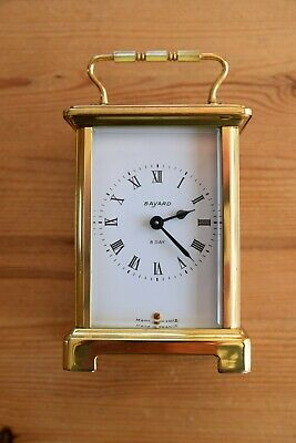 Antique French Duverdrey & Bloquel Bayard 8 Day Carriage clock. Needs attention