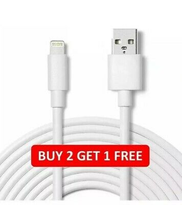 USB Lightning Charger & Data Sync Cable Lead For Apple iPhone 5 5s 5c 6 7 8 Plu