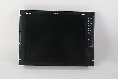 "Marshall V-R191P-SDI 19"" Rack Mountable LCD Monitor"
