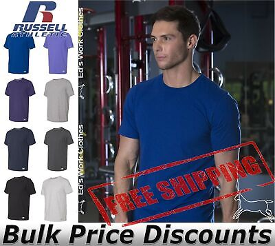 Russell Athletic Essential 60/40 Performance Tee Shirt Blank 64STTM up to 4XL