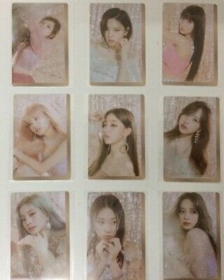 TWICE Feel Special Pre-Order Photocard Set version A