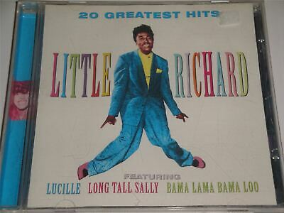 Little Richard - The 20 Greatest Hits CD Album Long Tall Sally Lucille