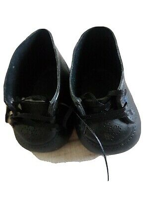 My Child Doll & Cabbage Patch Kids Black Shoes - Lace Up - Mary Janes