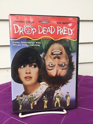 Drop Dead Fred [DVD, 1991] Artisan OOP *HTF Comedy Phoebe Cates