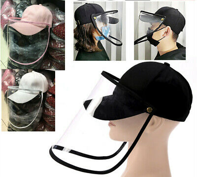 Baseball Hat Protective Clear Cover Dust proof Face Shield Cap Protector Kit