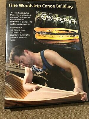 Fine Woodstrip Canoe Building with Nick Offerman DVD. Brand New. RARE.