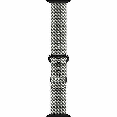Apple Watch Genuine Woven Nylon Band Black (38mm) MM9L2AM/A - NEW OPEN