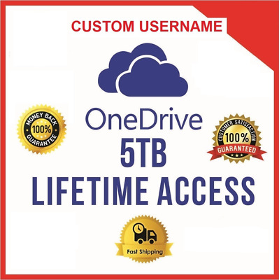 Onedrive 5TB  CUSTOM Account - Best Price - Fast Delivery 60m - *BEST OFFER*