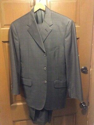 Tom James Hand Tailored Royal Classic Suit, 38S
