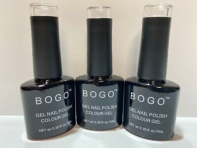 Bogo Non-Wipe Top Coat 10Ml Bottle 1St Class Dispatch Soak Off Gel Top Coat Uk
