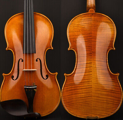 Light Oil Master Strad 1715 Copy Cremonese Violin 4/4 Best European Italy Wood