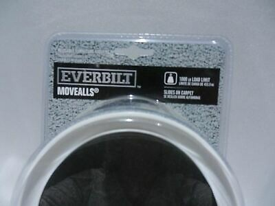 Everbilt Movealls Reusable Furniture Movers (8 Pack) 1,000 Lb*New*Factory Sealed