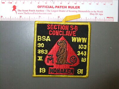 2005 Section NE-4C Conclave Patch /& Pin Hidden Valley