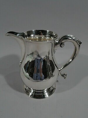 Tiffany Water Pitcher - 18543 - Antique Georgian - American Sterling Silver
