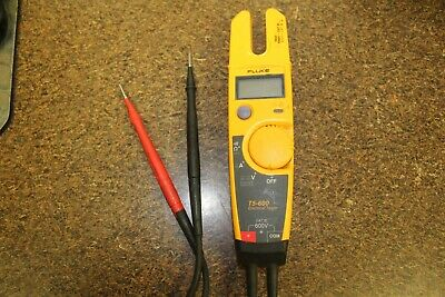 Fluke 600V Voltage Continuity and Current Tester T5-600