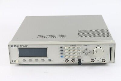 Agilent HP 8110A Pulse Pattern Generator 150 MHz With 2x Output Card 81103A