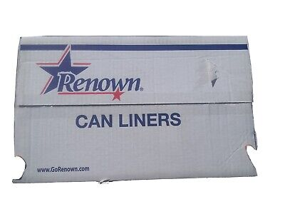 renown boardwalk canliners can liners 24inchx24inch