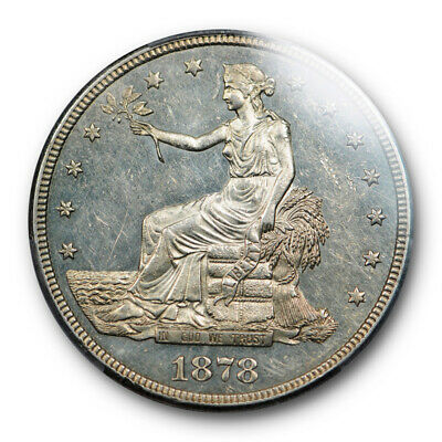 1878 S T$1 Trade Dollar PCGS MS 61Uncirculated Looks Proof Like ! PL !