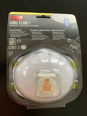 **TRUSTED SELLER**  NEW COOL FLOW 8511 Drywall Sanding 2 pack FREE Same Day SHIP