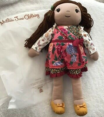 "Matilda Jane Doll Clothes Cozy Town All Dressed Up Wardrobe Fits 18"" Bag LOT New"