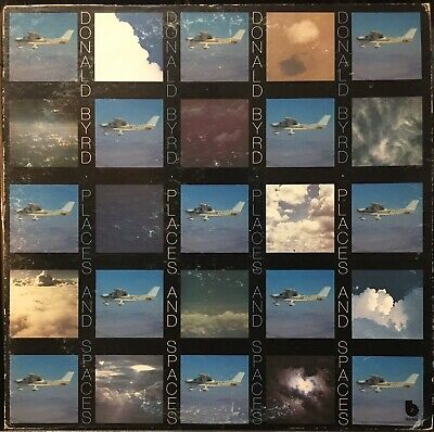 Donald Byrd - Places And Spaces LP VG+ Blue Note Mizell Jazz Funk