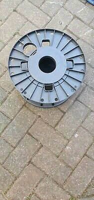 Cable Reel/Tidy (H/duty ABS Green Plastic)
