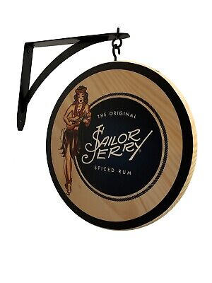 Sailor Jerry Spiced Rum Double Sided Pub Sign