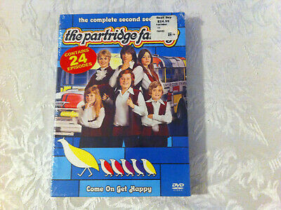 the partridge family - TV series - 3-disc DVD set - the complete second season