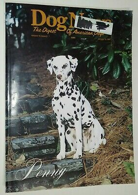 Dog News Illustrated Magazine Dalmatian Cover +Articles Jan. 1997