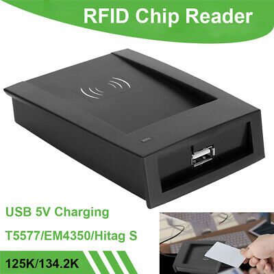 Office Home Microchip Scanner ID Card Copier Reader Adapter USB For T5577 EM4350
