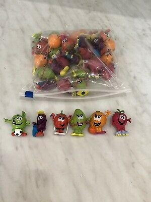 NEW 30 Munch Bunch Funky Fruit Pencil Toppers