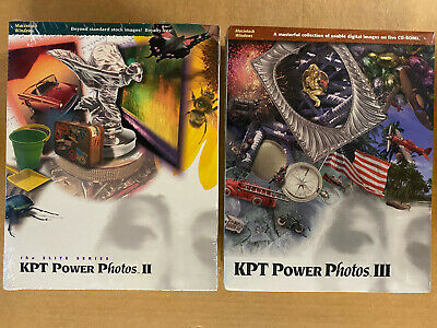 KPT Power Photos II & III - New in Boxes