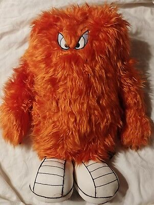 "wb '95 Gossamer Orange Monster 18"" plush toy Warner Brothers Store Looney Tunes"
