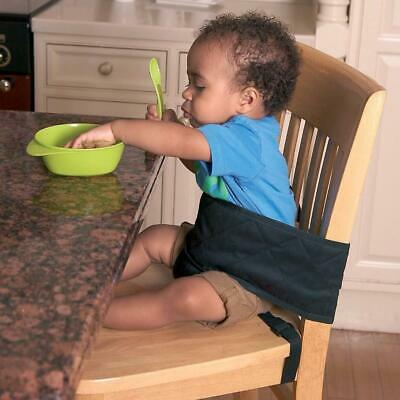Clippasafe Baby Child Safety Dining Chair Harness Travel Feeding Booster Black