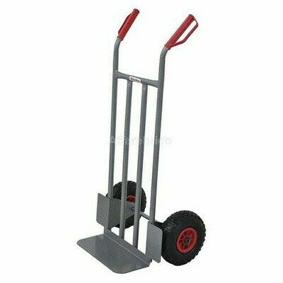 Cart Bag Holders Eco Carryall Rack with Wheels Pneumatic in Steel