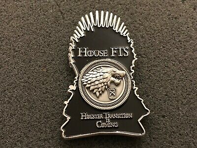 Nypd Game Of Thrones Range Challenge Coin