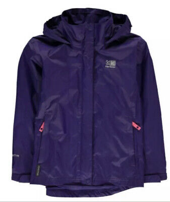 KARRIMOR SIERRA WEATHERTITE WATERPROOF HOODED JACKET. Age 9-10.BNWT. RRP £44