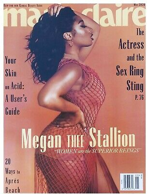 Megan Thee Stallion - Marie Claire Magazine May 2020 Brand New