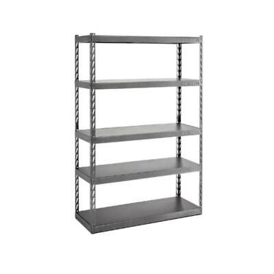 5 Shelf Storage rack Shelving Unit Steel EZ Connect Click And Lock Tool Free