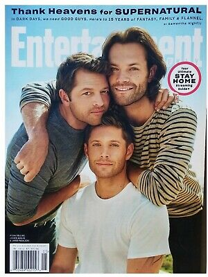 Supernatural - Entertainment Weekly Magazine - May  2020 - No Mailing Labels