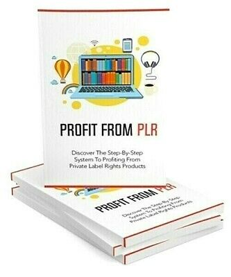💰Profit From PLR Ebook pdf Master Resell Rights