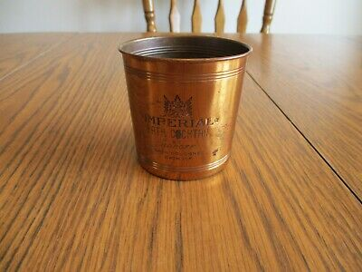Imperial Bath Cocktail By Karoff Copper Container Jar